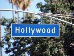 שלט הכוונה להוליווד