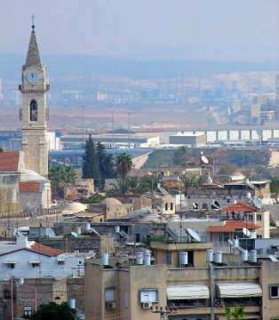 Ramla, Israel.  Credit: Gila Brand Creative Commons Attribution ShareAlike 3.0 (Generic)