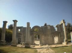 גן לאומי ברעם -בית כנסת עתיק