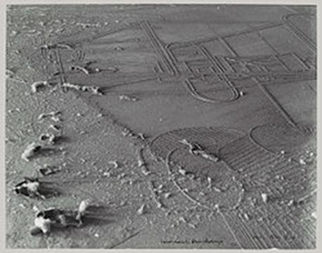 הצטברות אבק, צילום, מאן ריי ומרסל דושאן -1920