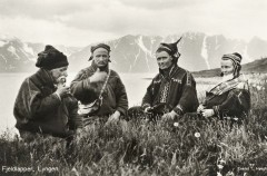 1928_Lyngen_Troms_Norway_group_Mountain_Sami_people_Photo_pcard (Custom)