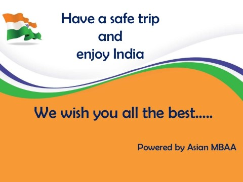 Precautions trip to India