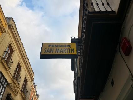 Pension-san-martin. מלון מומלץ בחרז ספרד