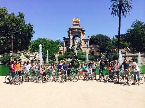 סיור באופניים חשמליות בברצלונה: מונז'ואיק, גאודי