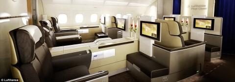 מחלקה ראשונה Lufthansa