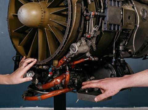 מנוע של מטוס על- קולי BOOM