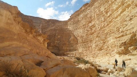 מה מחכה לכם אחרי החניון... הכניסה המרשימה למסלול היפה באזור (התמונה באדיבות אתר http://www.pikiwiki.org.il/)