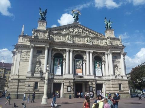 בית האופרה בלבוב - צילום נועה הראל