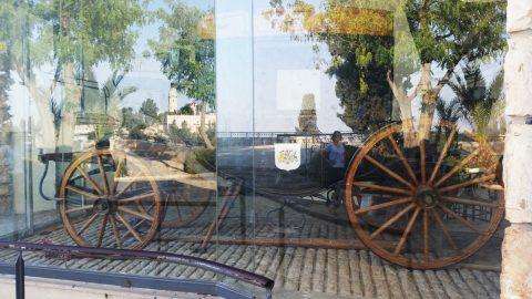 המרכבה המשוחזרת של משה מונטיפיורי