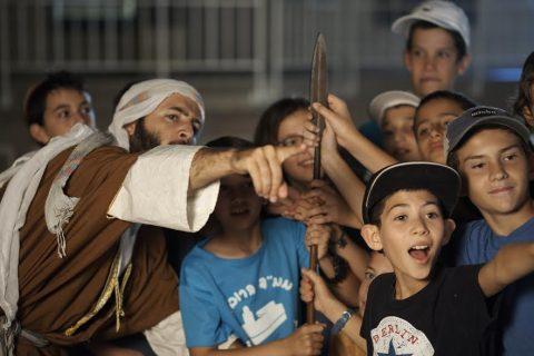 סוכות ברובע היהודי