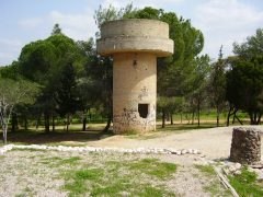 מגדל מים בגבעה 69 צילם אבישי טייכר