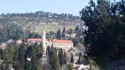 מסלול טיול בעקבות יוחנן המטביל ומשפחתו באזור עין כרם והירדן