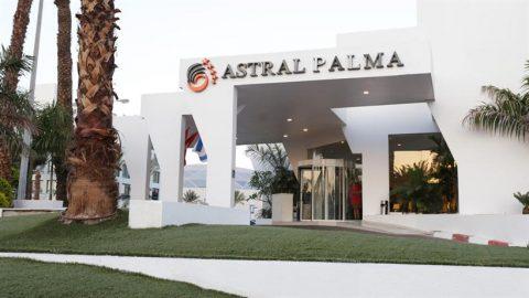 אווירה נעימה, קרוב לטיילת: מלון אסטרל פאלמה באילת