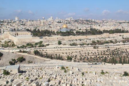 מסלול טיול בעקבות ירושלים של התקופה הביזנטית
