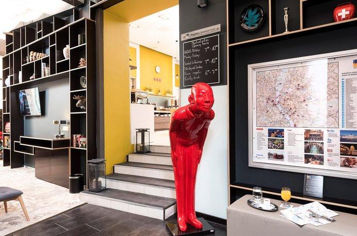 אווירה חמימה באזור שקט של בודפשט: מלון Bo18