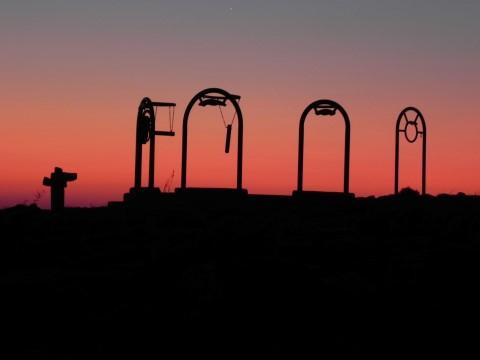 זריחה במכתש רמון -חופשי, מתוך אתר פיקיוויקי