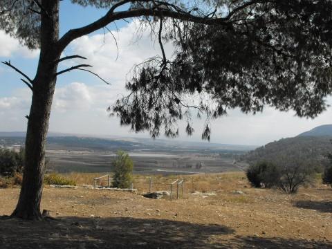תצפית לעמק יזרעאל. צילום: אילנה שקולניק - Ilana Shkolnik. מתוך אתר פיקיוויקי