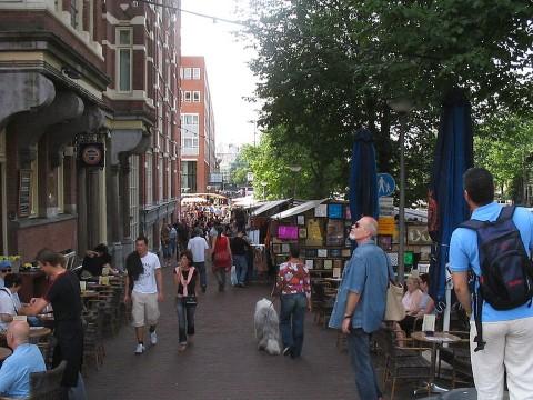 Waterlooplein - credit: M.M.Minderhoud or Wikipedia/Michiel1972