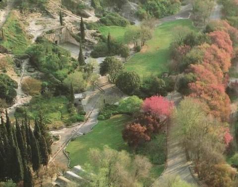 מבט אל גן לאומי בית שערים