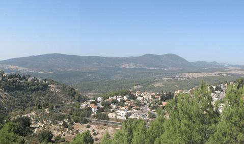 רכס הרי מירון – מכיוון צפת