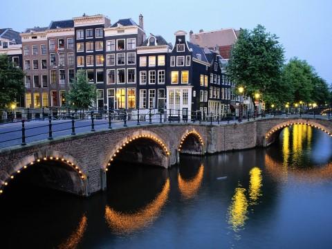 גשר באמסטרדם