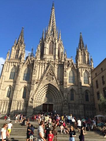 הקתדרלה הגדולה של ברצלונה – זאת של העשירים ושל אנשי הכמורה של ברצלונה (צילמה: נטלי שוחט)