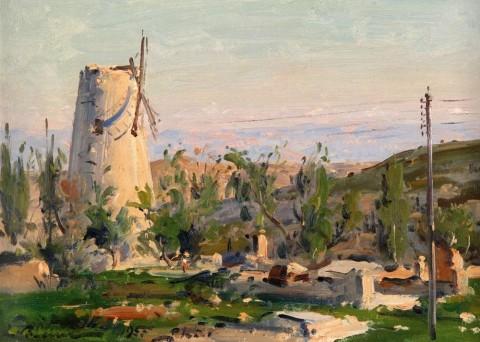 ימין משה - ציור של לודוויג בלום