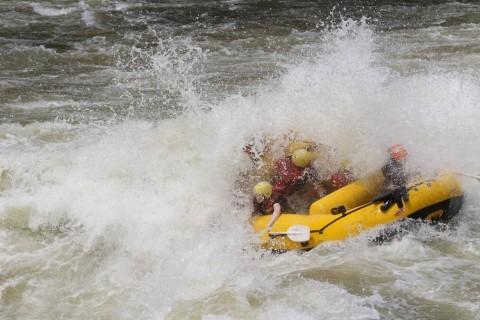 רפטינג על נהר הזמבזי - צילום של חברת Safpar