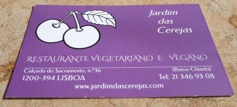 מסעדת Jardim Das Cerejas (גן הדובדבנים) - אכול כפי יכולתך, מזון טבעוני
