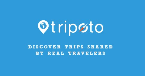 Tripoto interface