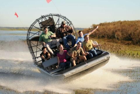 טיול יומי במיאמי ומסע מלהיב בספינת ביצות ב- Florida Everglades
