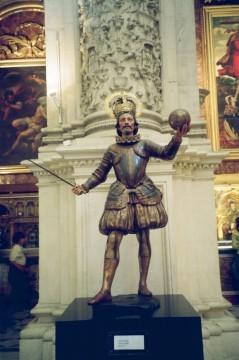 כריסטוף קולומבוס בקתדרלה. צילום אביטל ענבר