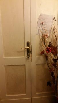 הדלת של החדר שלנו