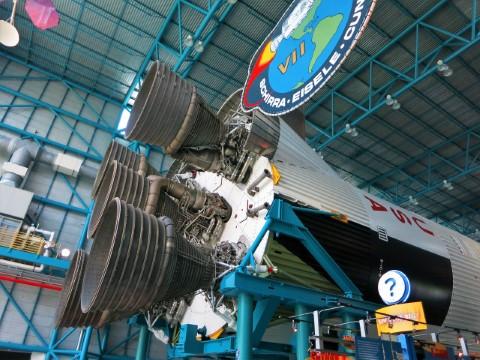ביקור במרכז החלל קנדי, אורלנדו בארצות הברית