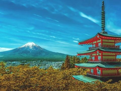 טיול יום מטוקיו להר פוג'י, האקונה, שייט על אגם אשי ורכבת הקליע