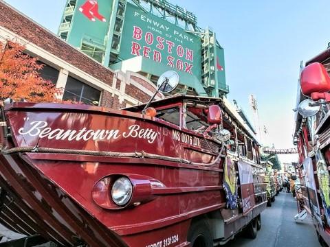 סיור בספינה סביב בוסטון