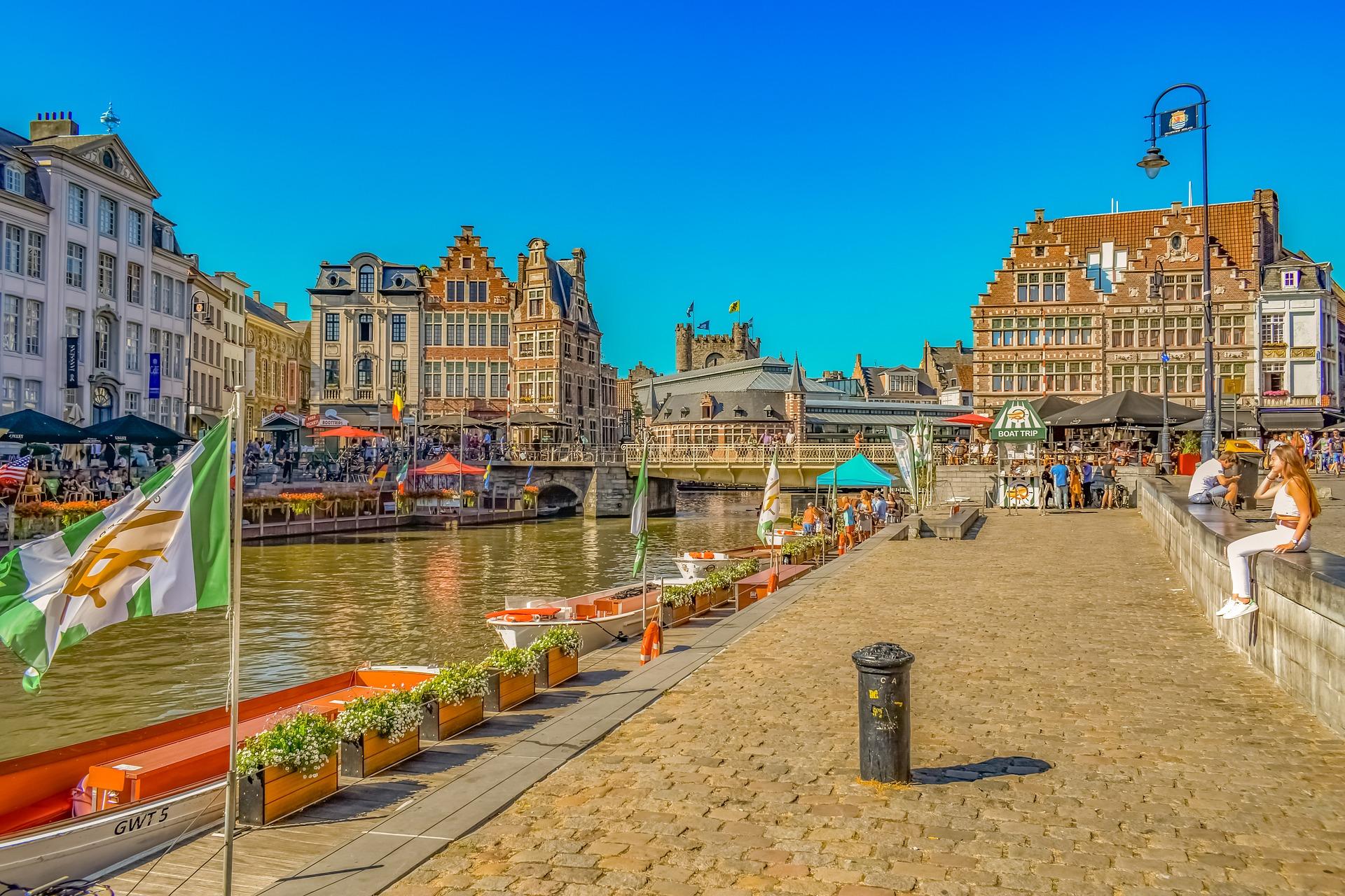 מסלול טיול של שלושה ימים בגנט הקסומה שבבלגיה