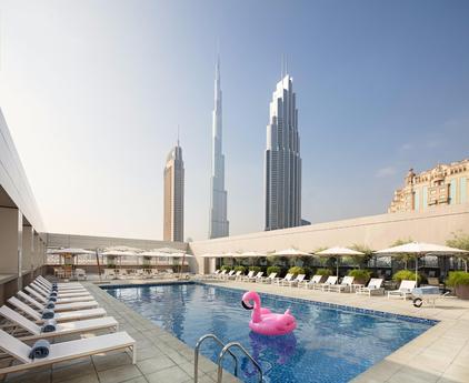 swimming pool Rove Downtown Dubai