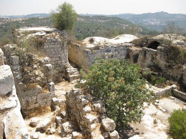 כביש 395: מסלול טיול רכוב בהרי ירושלים