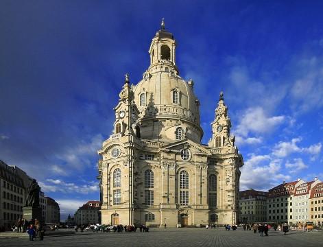 כנסיית גברתנו בדרזדן Church of Our Lady in Dresden